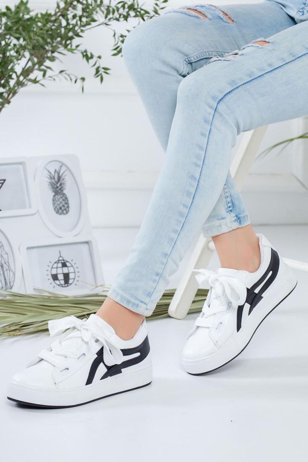 Kadın Salind Beyaz Spor Ayakkabı