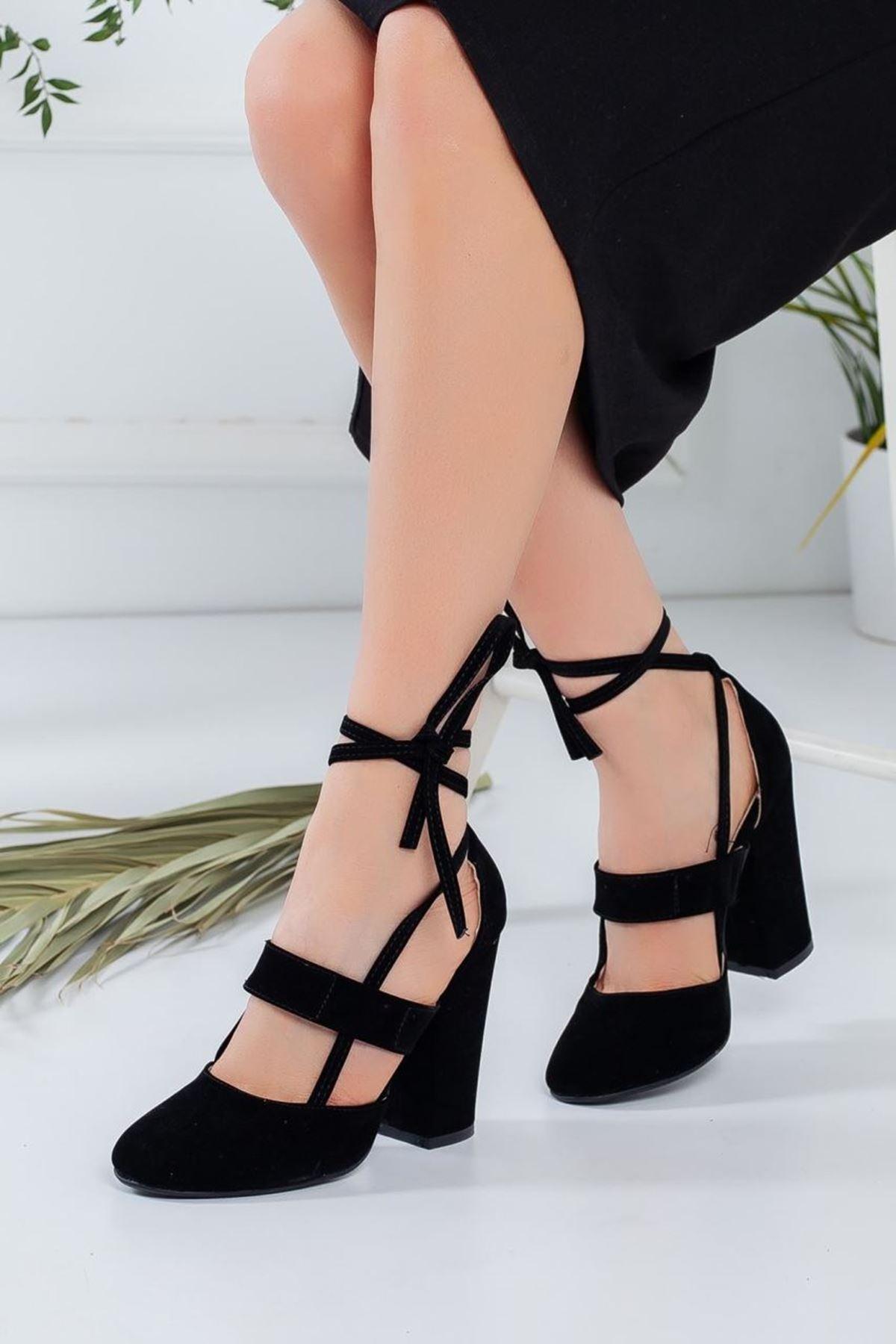 Kadın Priam Siyah Topuklu Ayakkabı