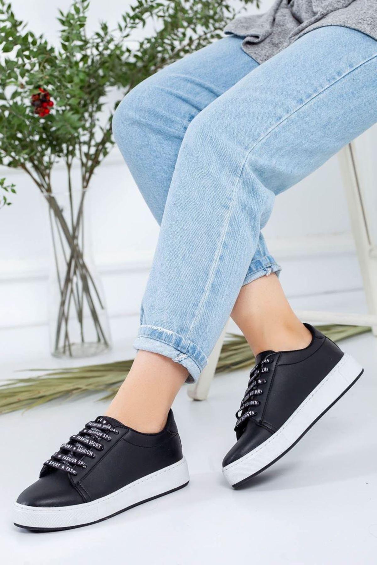 Kadın Melina Siyah Spor Ayakkabı