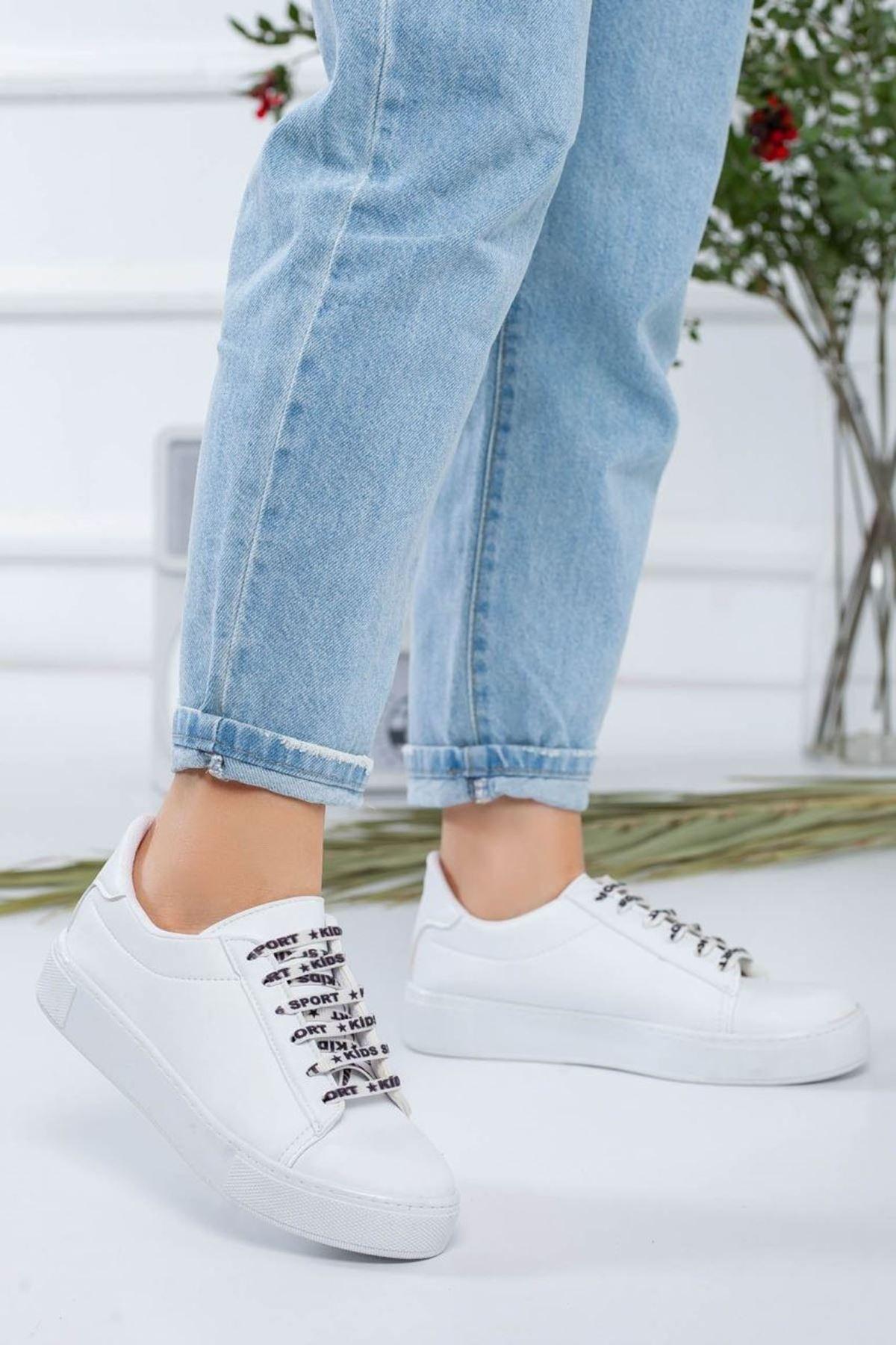 Kadın Melina Beyaz Spor Ayakkabı