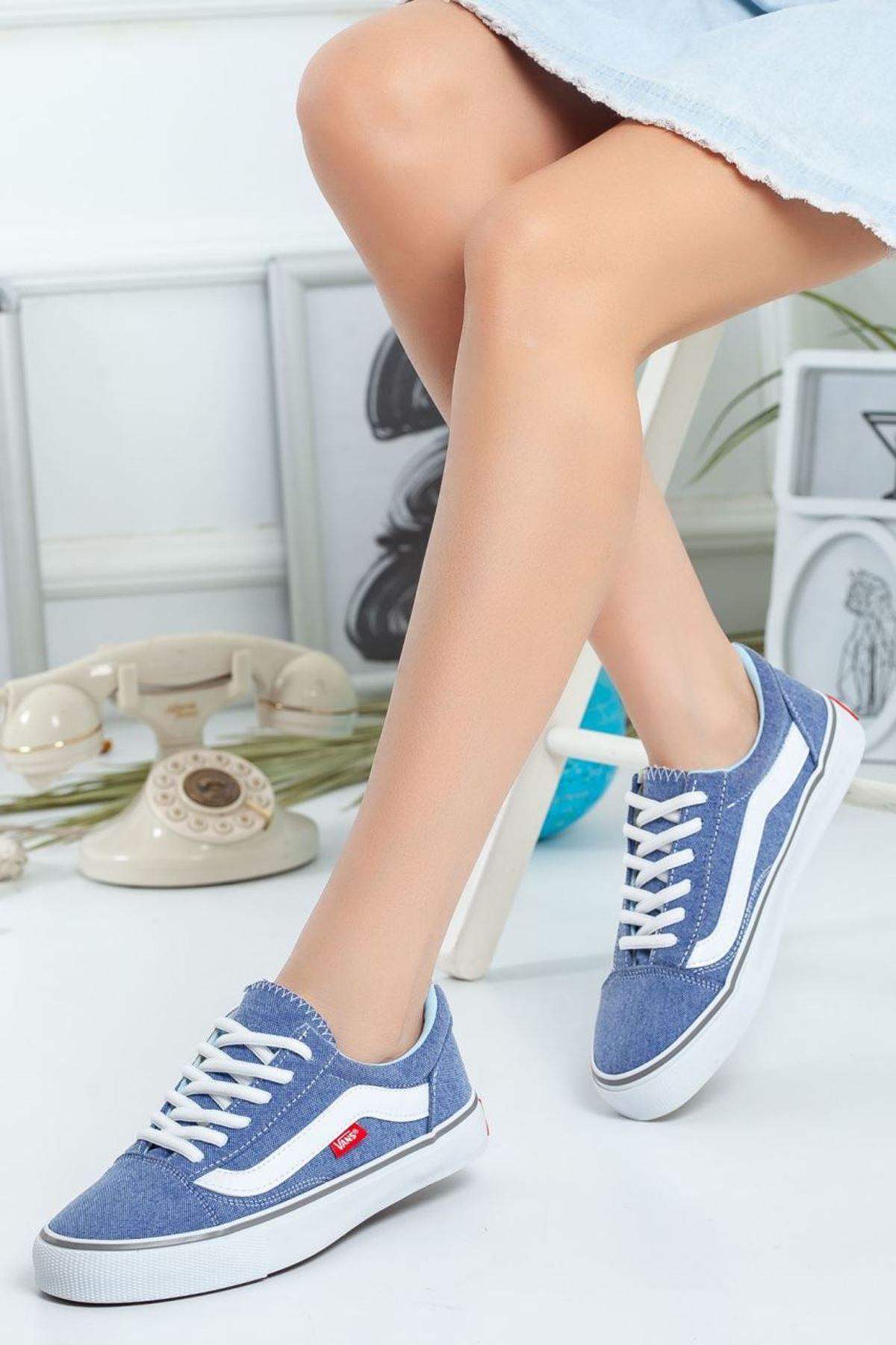 Kadın Vans Spor Ayakkabı Mavi