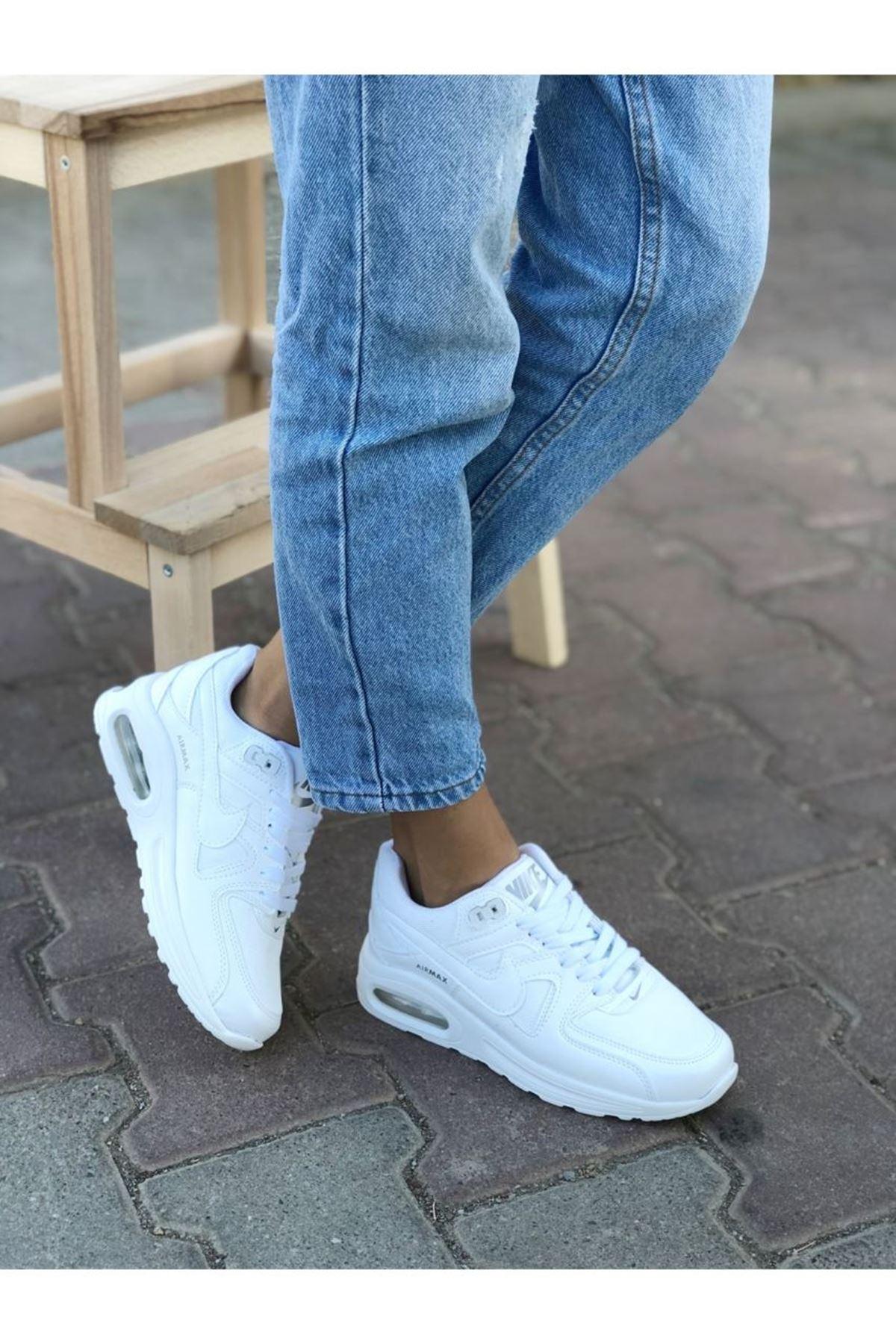 Kadın Modeno Spor Ayakkabı Beyaz