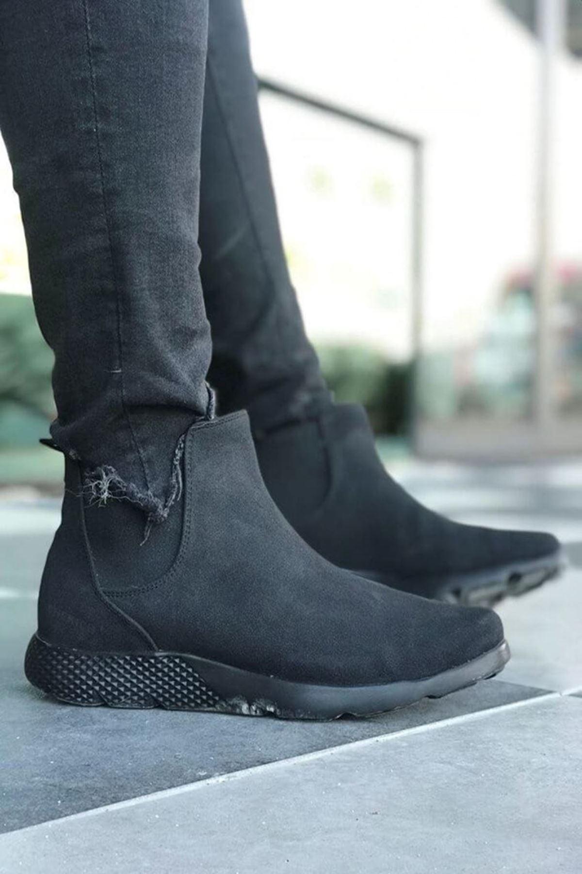 Moundou Erkek Ayakkabı CH049S2074-SİYAH