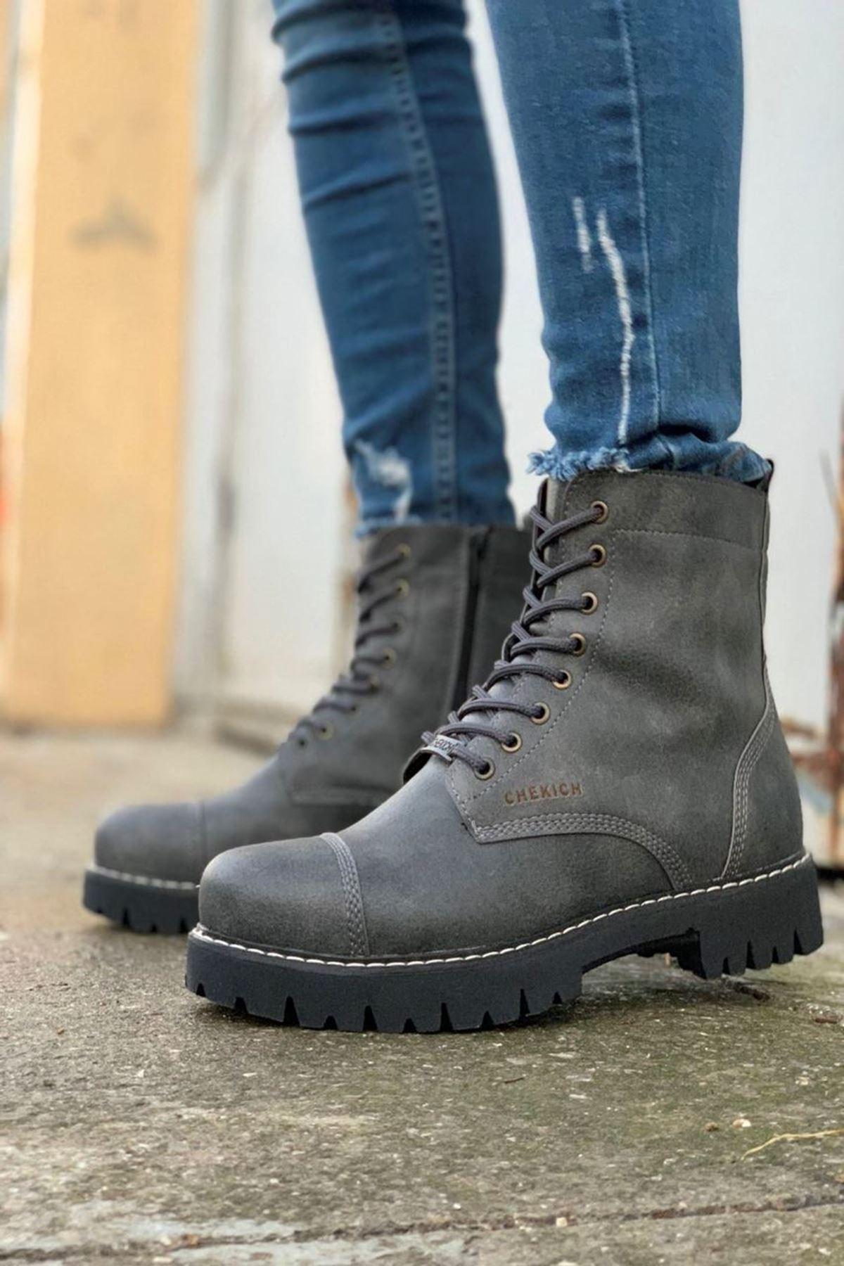 Klos Erkek Ayakkabı CH009F15132-ANTRASİT