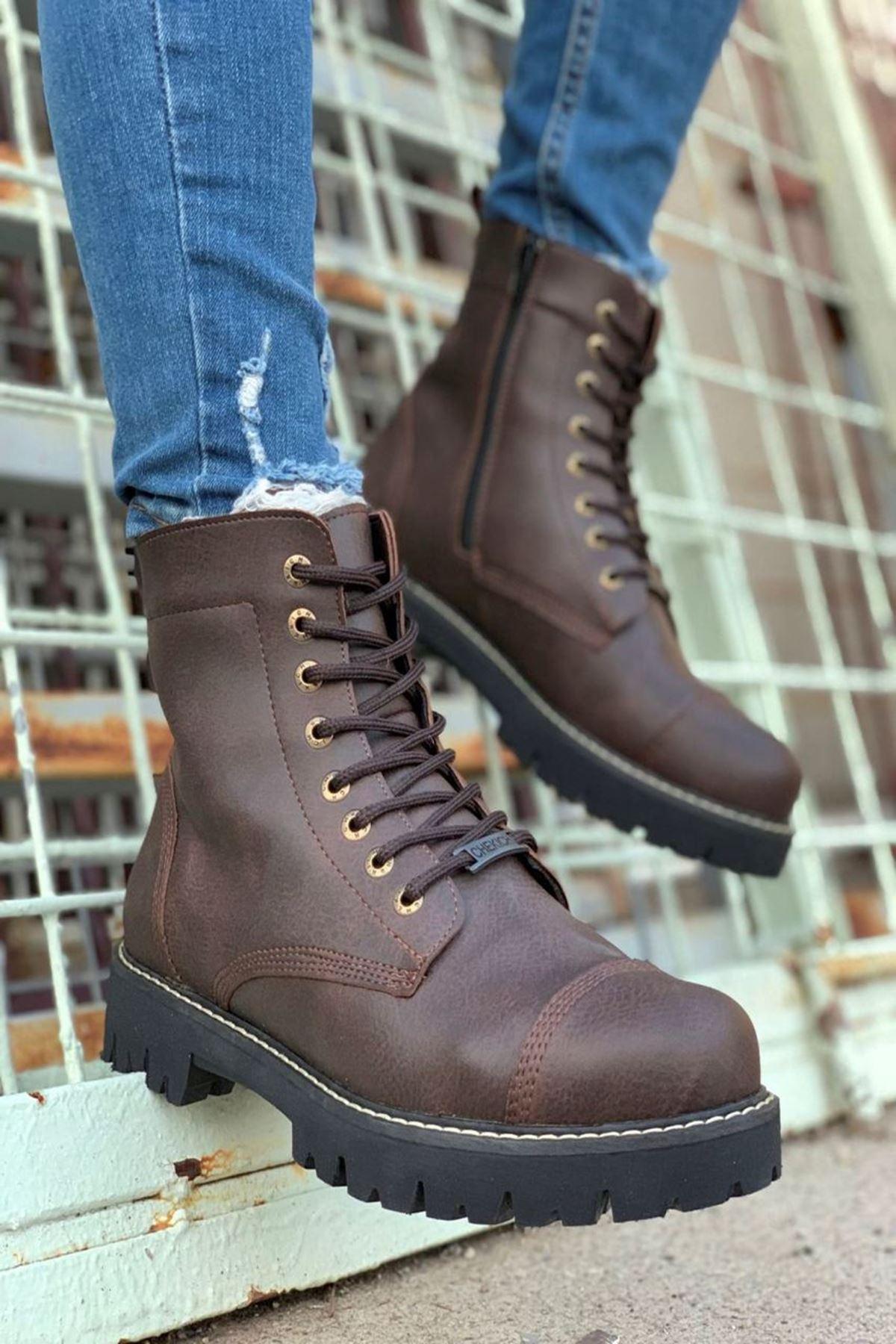 Klos Erkek Ayakkabı CH009F15132-KAHVE