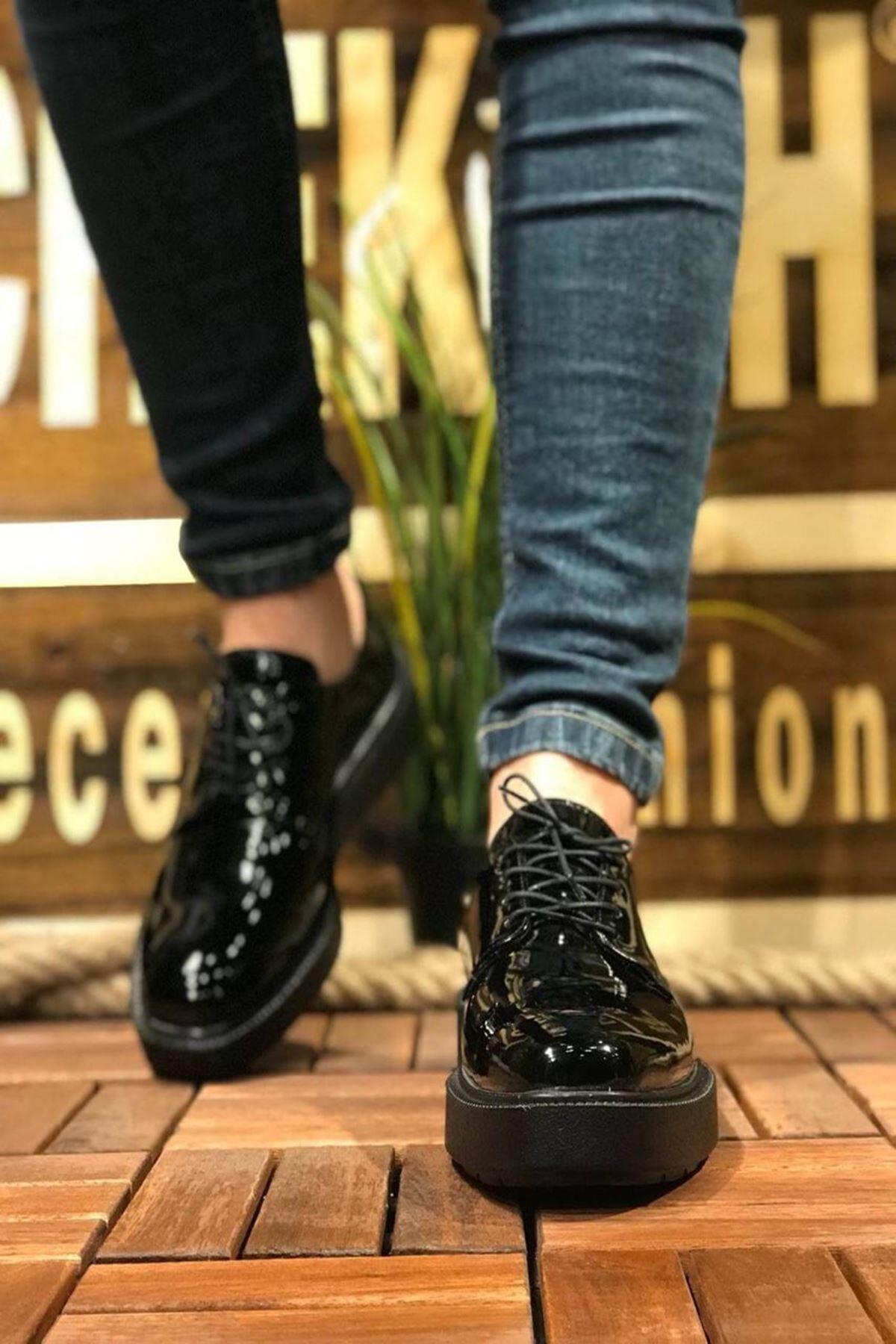 Edward Erkek Ayakkabı CH001R25124-SİYAH