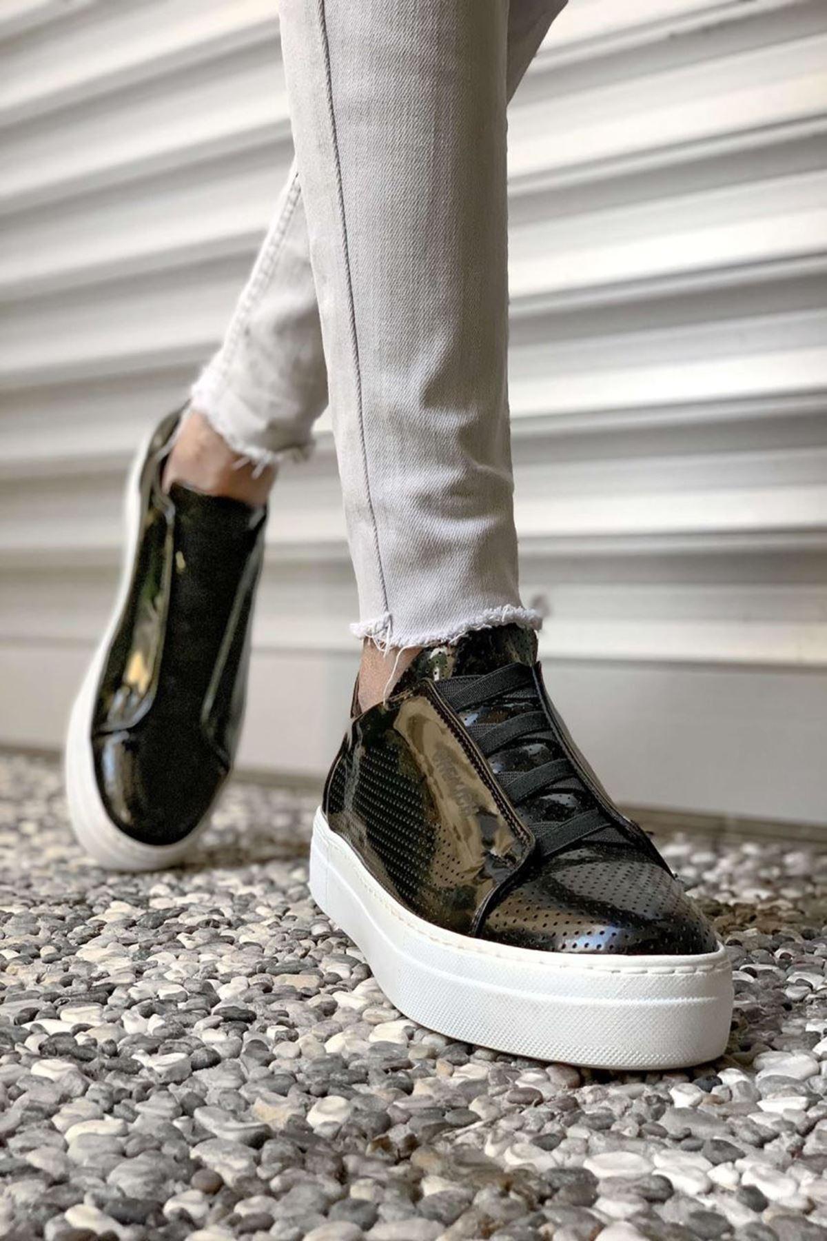 Daniel Antrasit Erkek Ayakkabı CH011R15489-SİYAH