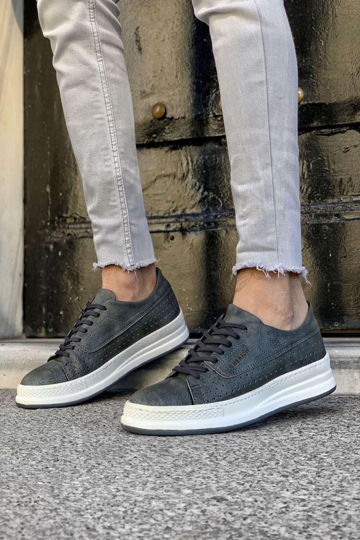 Donald Erkek Ayakkabı CH043I15253-ANTRASİT