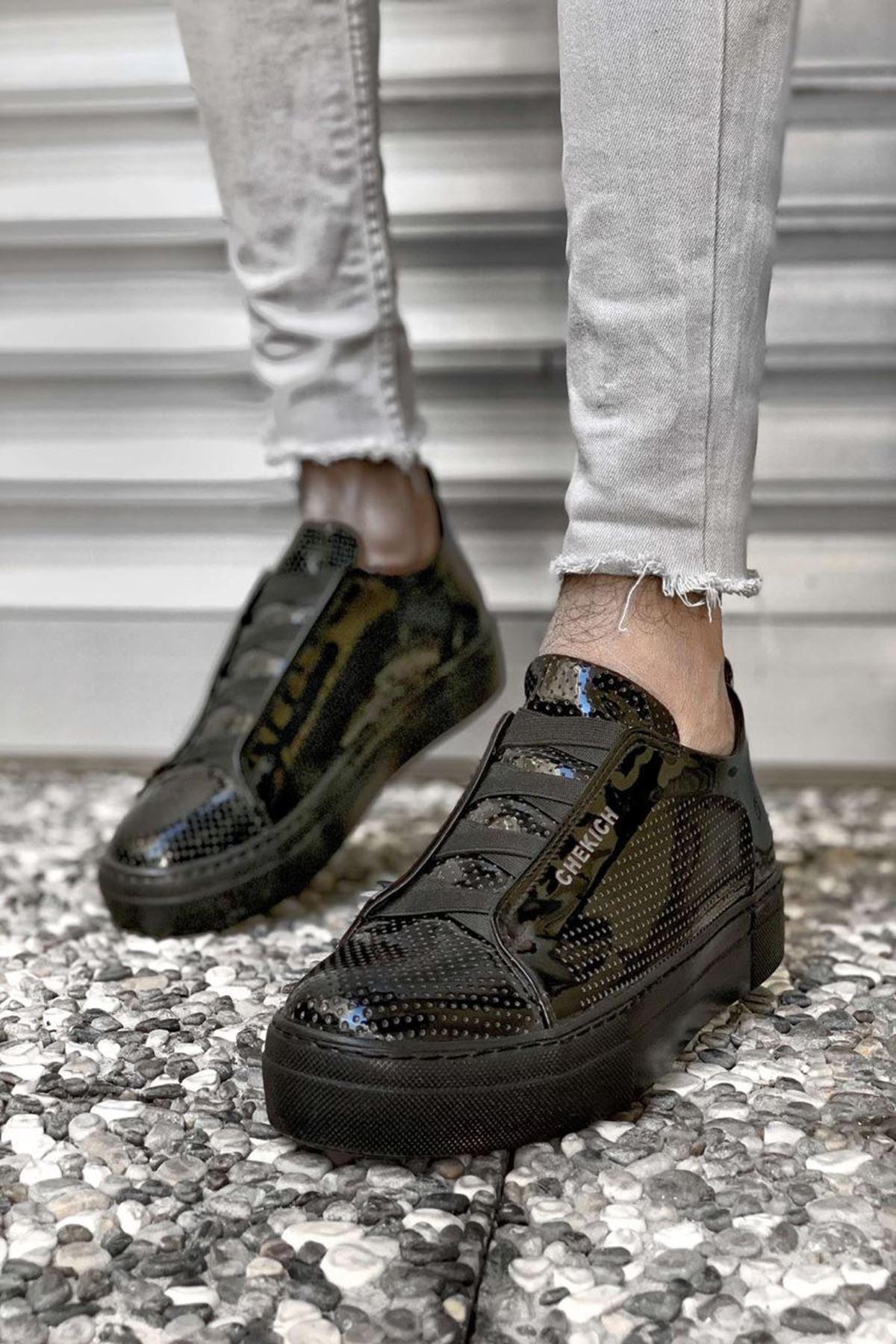 Mark Erkek Ayakkabı CH011R25489-SİYAH