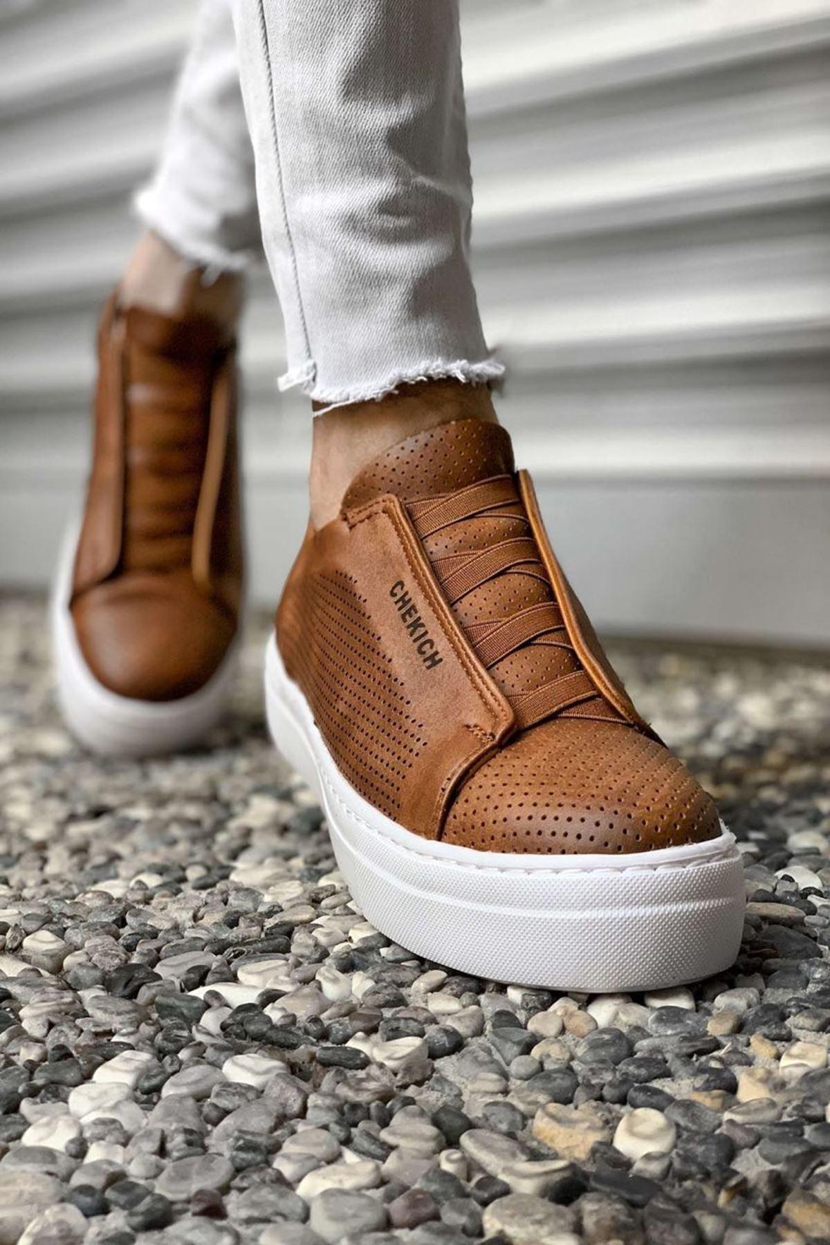 Daniel Antrasit Erkek Ayakkabı CH011I15489-TABA