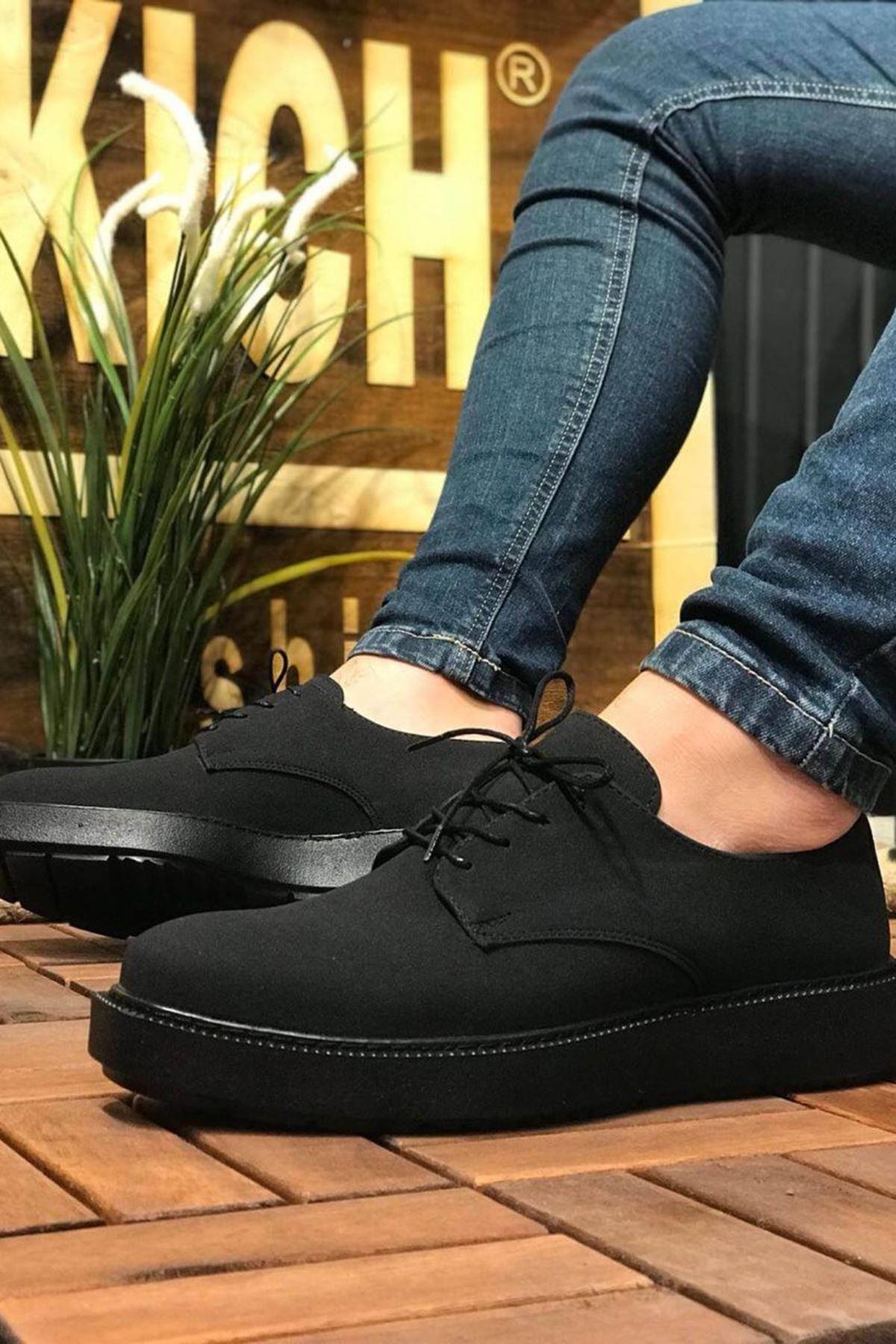 Brian Erkek Ayakkabı CH001S25124-SİYAH