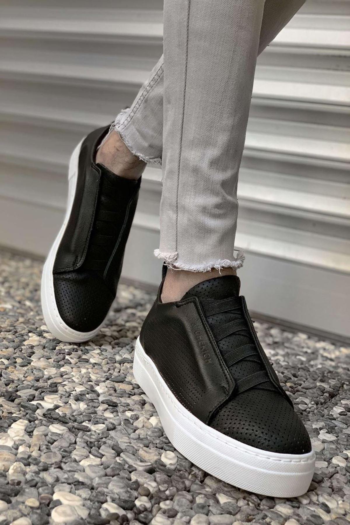 Paul Erkek Ayakkabı CH011I15489-SİYAH