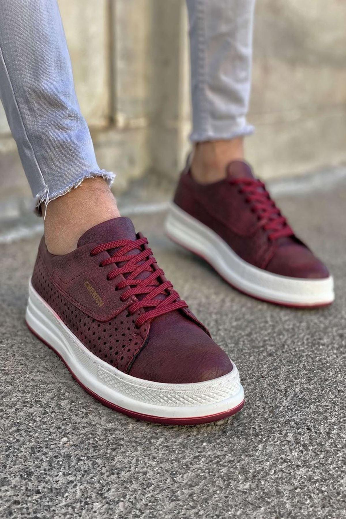 Donald Erkek Ayakkabı CH043I15253-BORDO