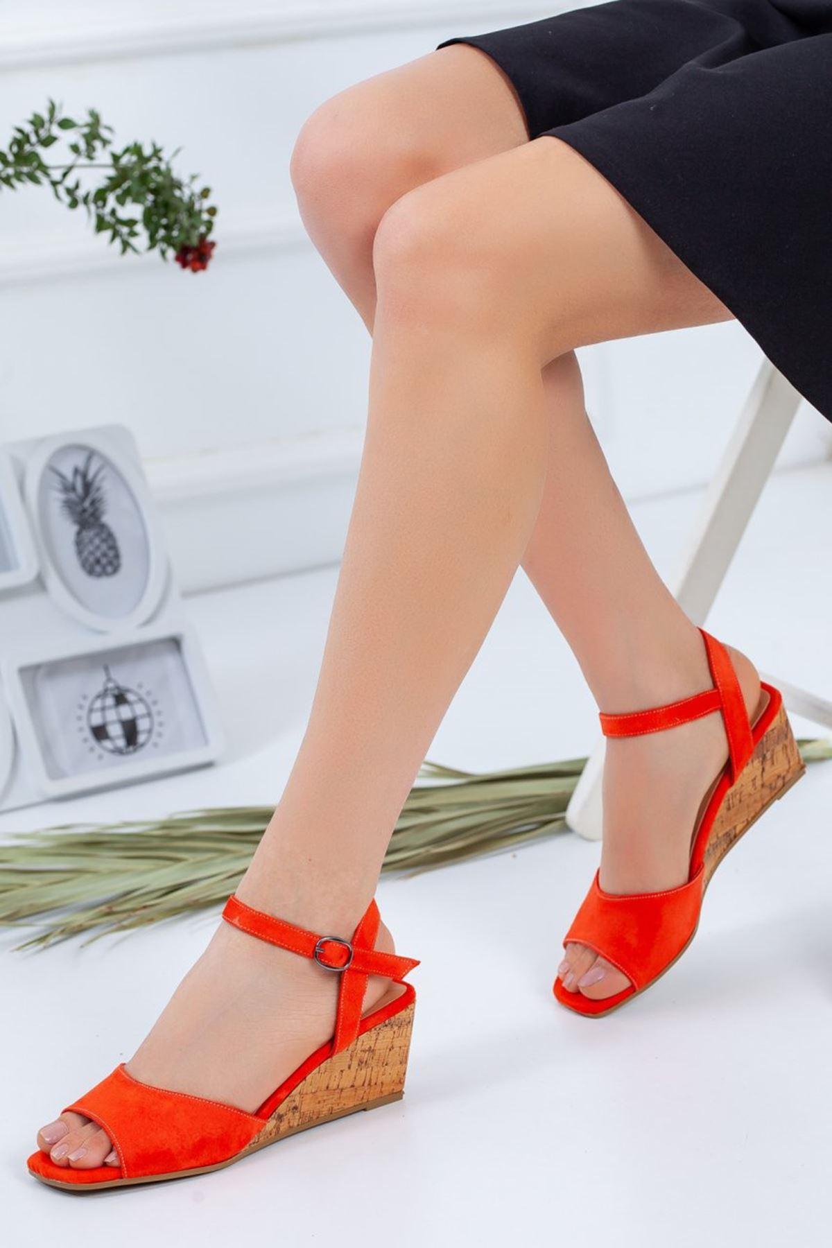 Kadın Pandora Günlük Ayakkabı Turuncu