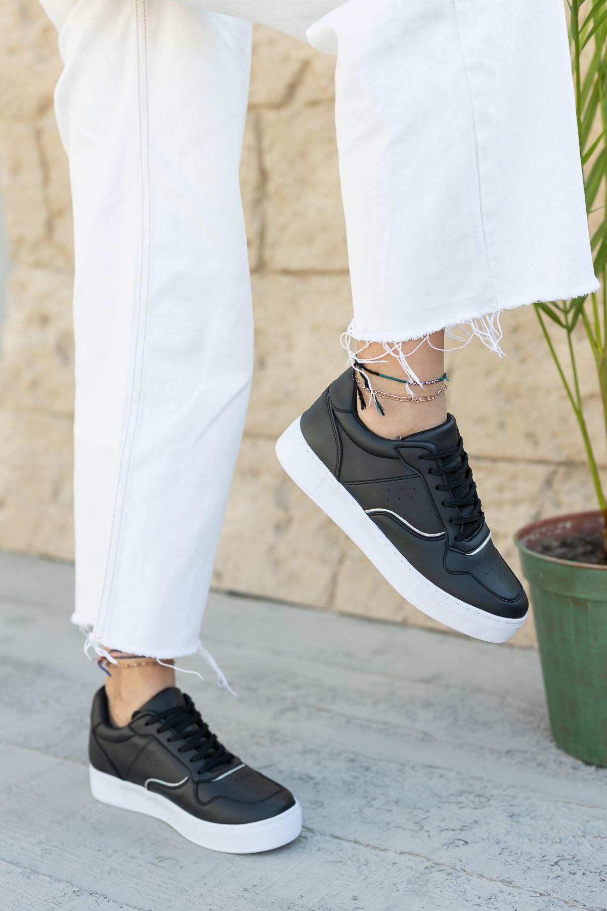 Kadın Ramy Siyah Spor Ayakkabı