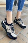 Kadın Kalipso Vizon Şerit Desenli  Günlük Ayakkabı